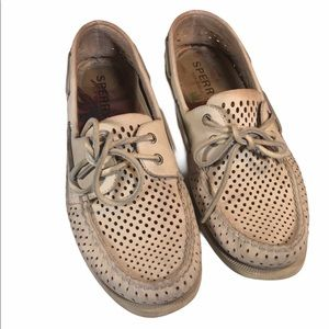 Sperry Top Sider Boat Shoes Size 10.5